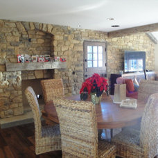 Farmhouse Dining Room by THE KITCHEN LADY, Enriching Homes With Style