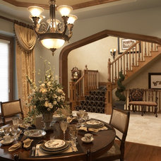 Traditional Dining Room by Barenz Builders