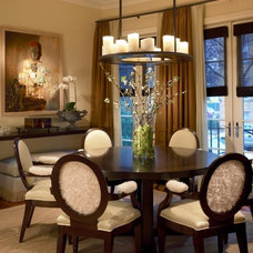 Contemporary Dining Room by COOK ARCHITECTURAL Design Studio