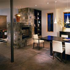 Modern Dining Room by Robyn Scott Interiors, Ltd.