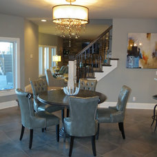 Traditional Dining Room by KRT Construction