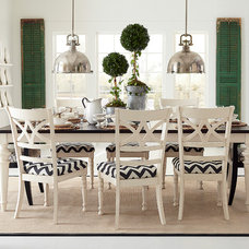 Contemporary Dining Room by Bassett Furniture