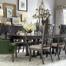 Traditional Dining Room by Bassett Furniture