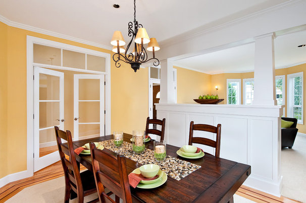 Traditional Dining Room by Creekstone Designs