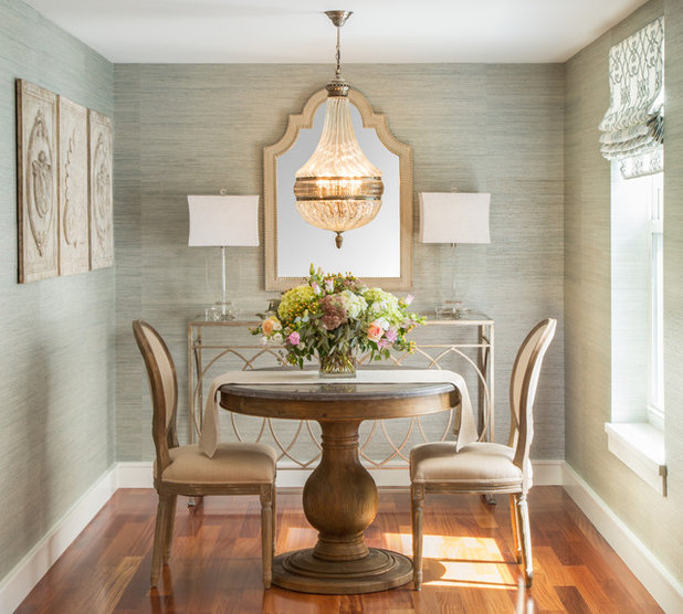 American Traditional Dining Room by Casabella Interiors