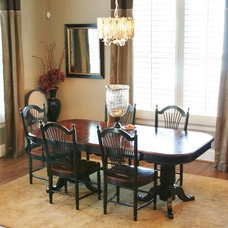 Traditional Dining Room by Innovative Design by Jaclyn, LLC