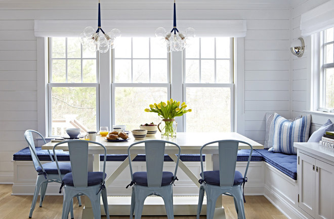 Beach Style Dining Room by Chango & Co.