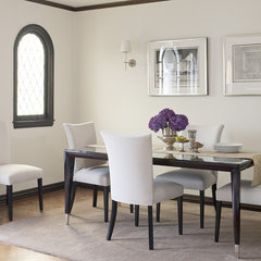 traditional dining room by Ken Gutmaker Architectural Photography