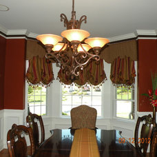 Traditional Window Treatments by Sallie Smith Decor and Decorating
