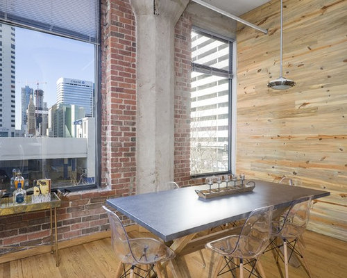 Industrial Dining Room Design Ideas, Remodels & Photos