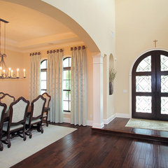 mediterranean dining room by Devonshire Custom Homes
