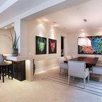 great art deco master bedroom %E2%80%93 by ace   bayside custom - Contemporary - Bedroom - orange county ...