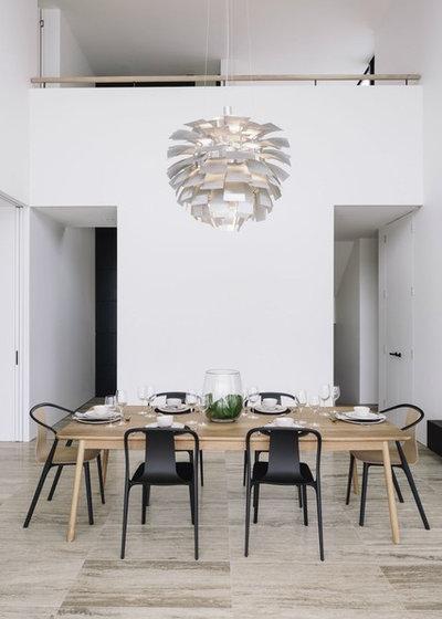 Contemporary Dining Room by Trinity Interior Design