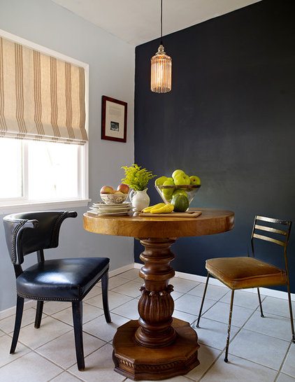 Eclectic Dining Room by Lynnea Jean Interior Design