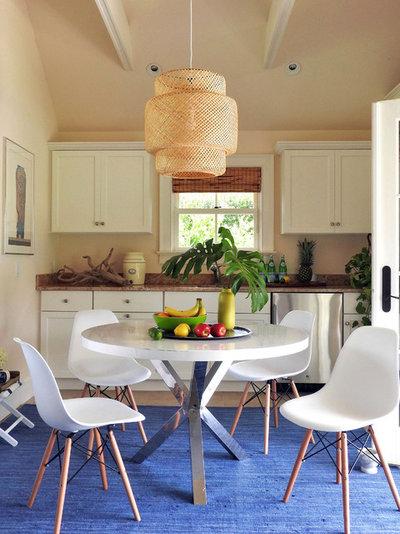 Beach Style Dining Room by NATASHA HABERMANN STUDIO