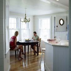 Traditional Dining Room by CBRD