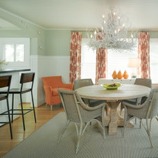 Beach Style Dining Room by Nancy Van Natta Associates
