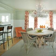 eclectic dining room by Nancy Van Natta Associates