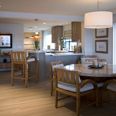 Beach Style Dining Room by Ambience Photography