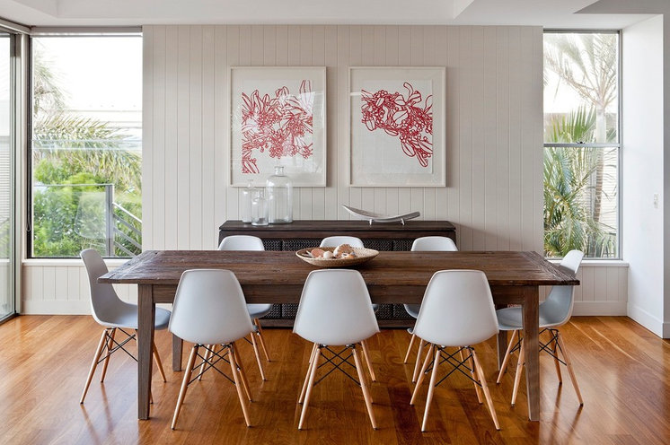 Contemporary Dining Room by Highgate House