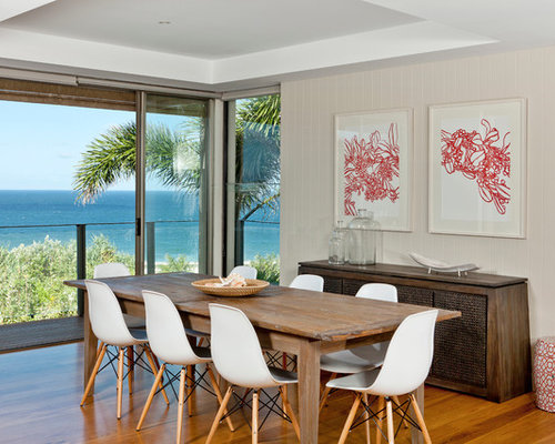 Beach House Dining Room Home Design Ideas Pictures