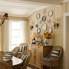 Beach Style Dining Room by Columbine Antiques & Decoration Ltd.