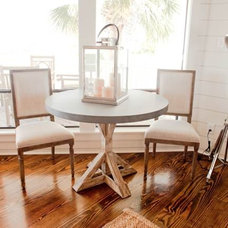 Beach Style Dining Room by Munger Interiors