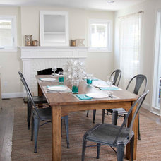 Beach Style Dining Room by Judy Cook Interiors, LLC