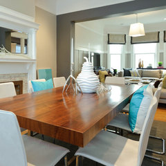 modern dining room by Regan Baker Design