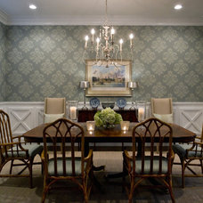 Traditional Dining Room by Studio M Interior Design, Inc.