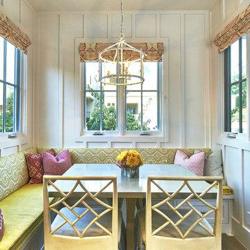 Beach Style Dining Room
