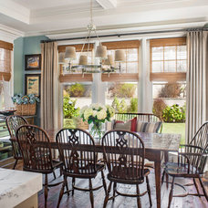 Beach Style Dining Room by Norman Design Group, Inc.