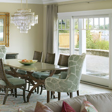 Beach Style Dining Room by Robert Legere Design