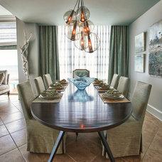 Beach Style Dining Room by Joey LaSalle - Interior Designer