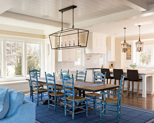 beach style dining room design ideas remodels photos