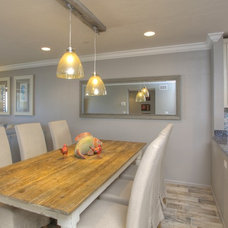 Tropical Dining Room by Chic on the Cheap