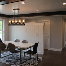 Beach Style Dining Room by Cornerstone Builders & Associates, LLC