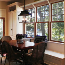 Traditional Dining Room by Tina Colebrook Architect