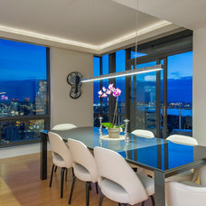 Contemporary Dining Room by CL Waterfront Properties, LLC