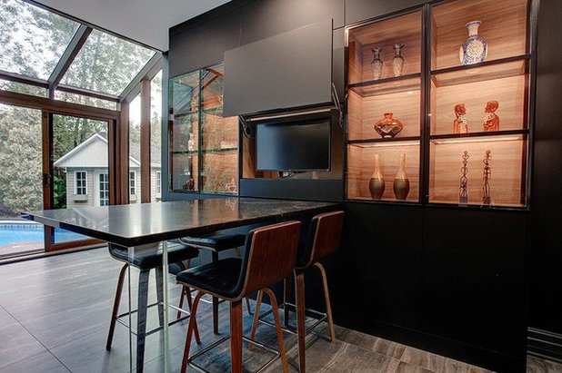 Dining Room by Cuisines Vima Design