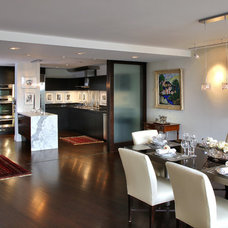 Contemporary Dining Room by Edgemoor Custom Builders