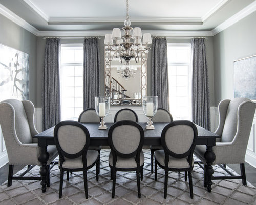 Best Grey Dining Room Design Ideas & Remodel Pictures   Houzz