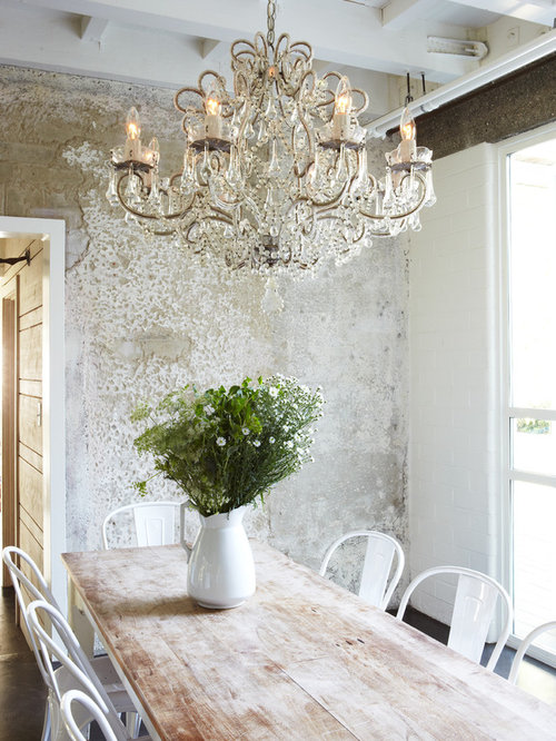 Shabby chic style home design photos decor ideas for Lampe style shabby chic