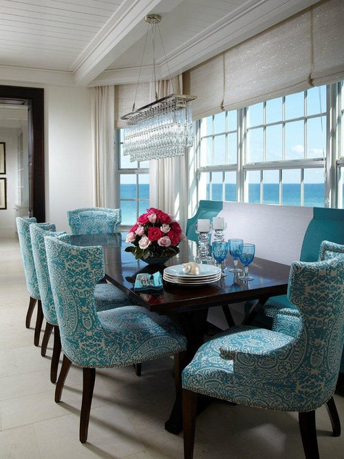 beach style miami dining room design ideas remodels photos. Black Bedroom Furniture Sets. Home Design Ideas