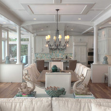 Beach Style Dining Room by Kitchen Choreography