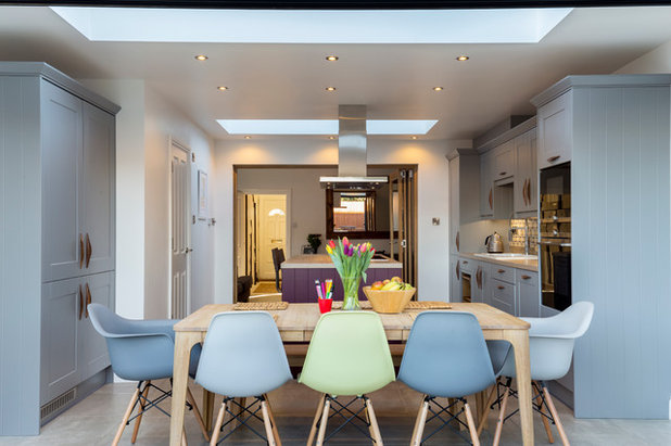 Contemporary Dining Room by Berry Construction