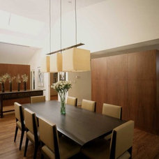Contemporary Dining Room by Becker Architects Limited