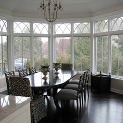 traditional dining room by Becker Architects Limited