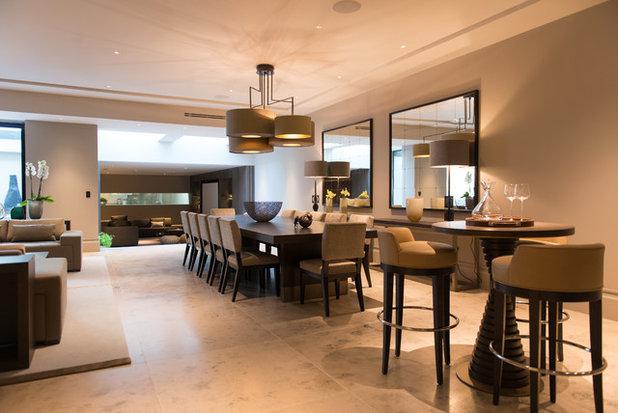 Conseils de pro pour clairer votre table manger for Luminaire contemporain salle a manger
