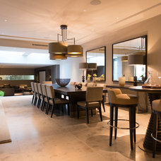 Contemporary Dining Room by Nash Baker Architects
